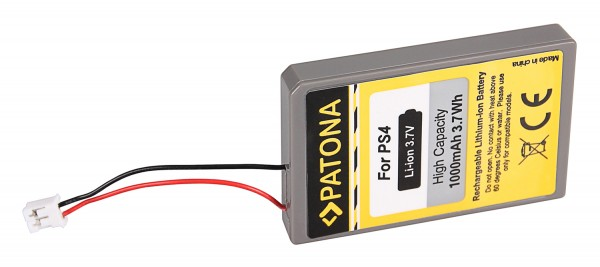 PATONA Akku f. Sony Playstation 4 PS4 Playstation 4 Sixaxis Controller LIP