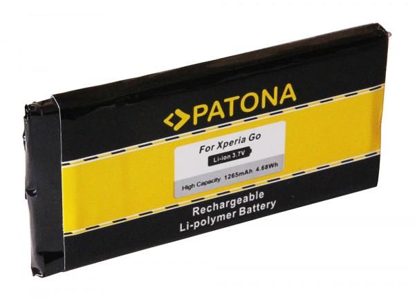 PATONA Akku f. Sony Ericsson Xperia Go ST27a ST27i AGPB009A003 AGPB009-A003