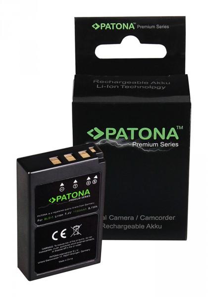 PATONA Premium Akku f. Olympus BLS5 E-P3 E-PL2 PEN E-PL3 E-PM1