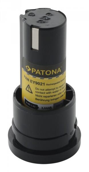 PATONA AKKU für Panasonic EY9021 EY3652 EY503 Pressofix 208 SDF210
