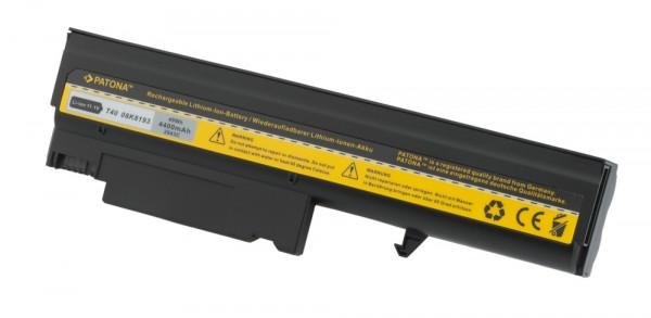 Akku f IBM Thinkpad T40 T41 T42 T43 R51 02K8193 4400 mA
