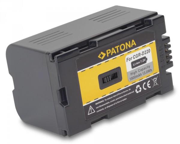 AKKU für PANASONIC CGR-D220 CGR-D16 NV-Serie