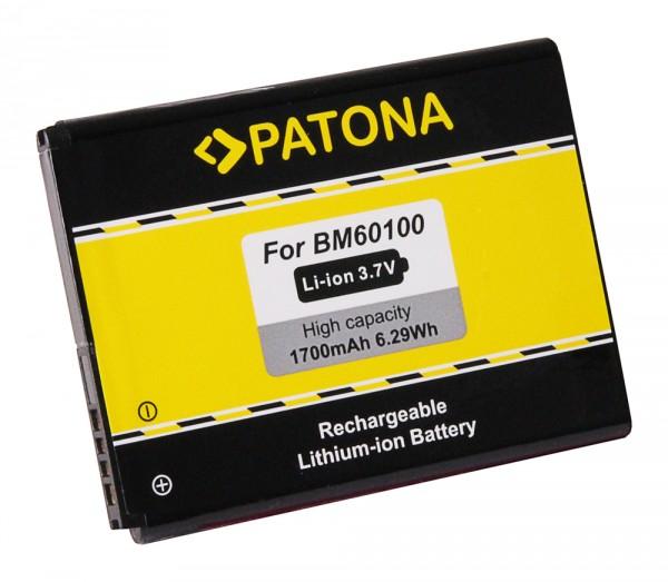 PATONA Akku f. HTC One SV, Desire 500, C520e BA-S890, BM60100, 35H00202-02M, 35H00202-03M, 35H00201-