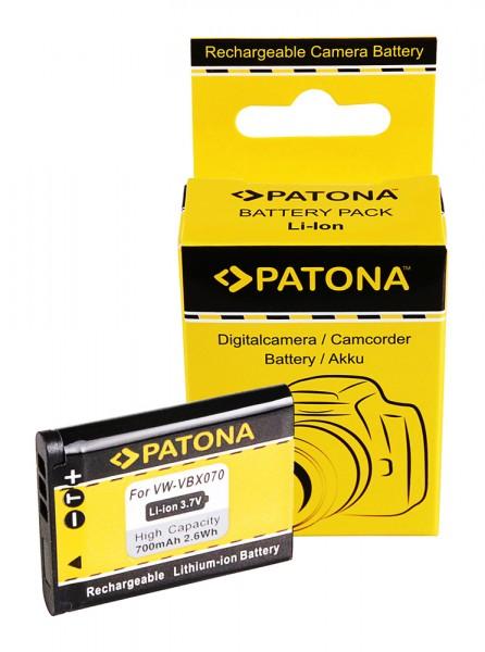 Akku für Pentax D-Li88 PENTAX Optio H90 P70 P80 W90