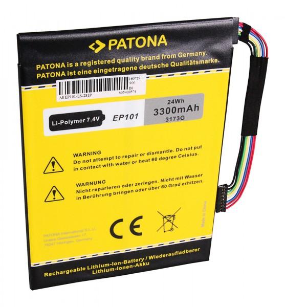 PATONA Akku f. Asus EP101 Transformer TF101 TF101 Mobile Docking TF101 prefix
