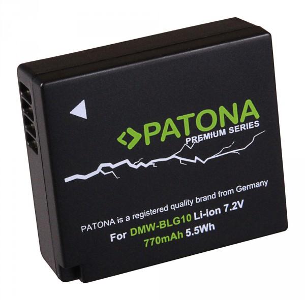 PATONA Premium Akku f. Panasonic DMC-GF6 DMW-BLG10 DMW-BLG10E CS-BLG10MC
