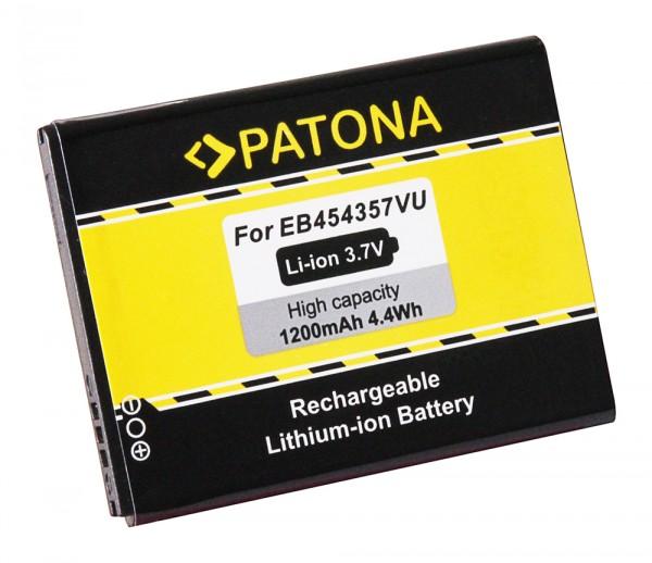 PATONA Akku f. Samsung Galaxy Pocket GT-S5300 Plus GT-S5301 Young Y