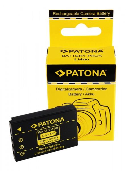 Akku Kodak EasyShare Z730 DX7630 DX7590 Klic-5001