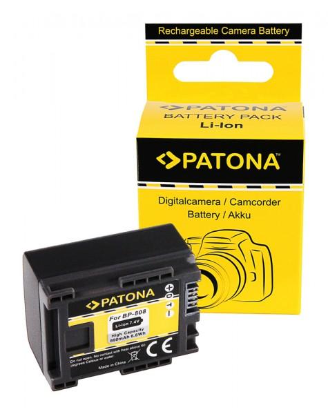 AKKU CANON BP819 BP827 BP808 BP809 HF100 HG-20 wireless
