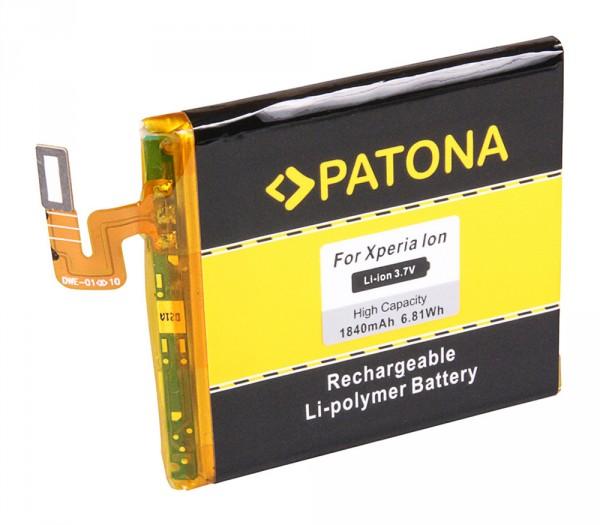 PATONA Akku f. Sony Ericsson Xperia Ion LT28h LT28i LIS1485ERPC