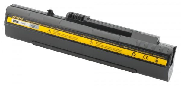 Akku f Acer Aspire One A110-1295 A110-1545 ZG5 schwarz
