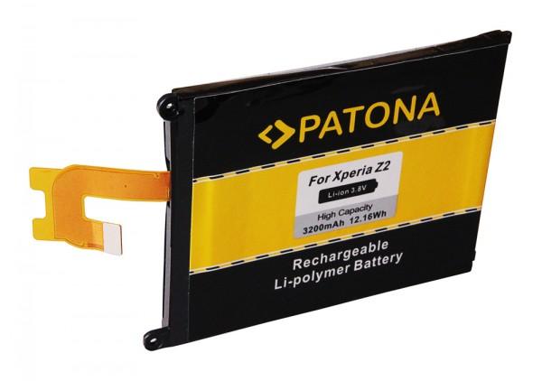 PATONA Akku f. Sony Ericsson Xperia D6502 D6503 D6543 L50W LT50w Z2 LIS1