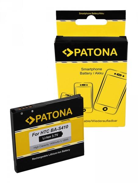 PATONA Akku f. HTC Bravo, Desire, Dragon, G5, Nexus One, Zoom 2, A8181, Google Nexus One BA-S410, BB