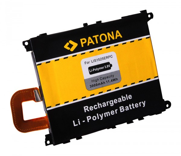 PATONA Akku f. Sony Xperia Z1, LT39h, L39h, C6902, C6903, C6906 LIS1525ERPC