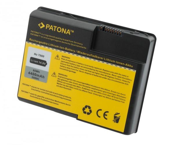 Akku HP NX7000 COMPAQ HP Pavilion X1000 ZT3000 *4400mAh