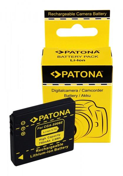 AKKU für Panasonic DMC-FX30 FX-30 CGA-S008E DMW-BCE10E
