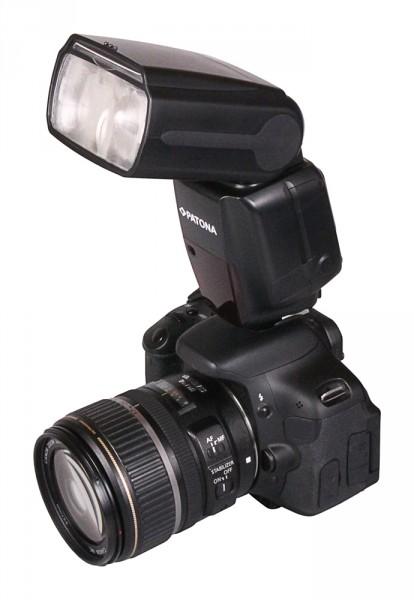 PATONA Professionelles Kamera Blitzlicht Speedlite-Blitz FK910 f. Nikon
