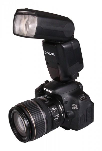 PATONA Professionelles Kamera Blitzlicht 600EX-RT f. Canon