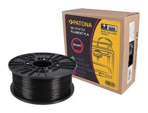 PLA Filament schwarz von PATONA
